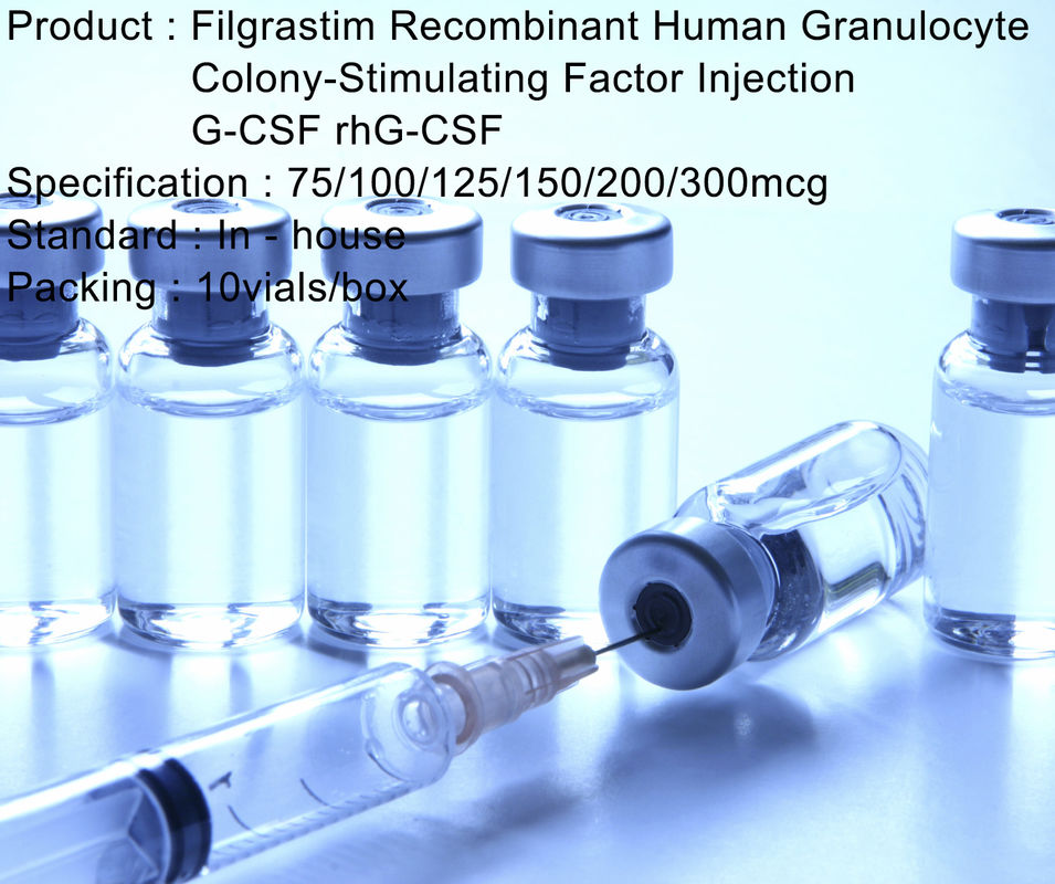 Recombinant Human Granulocyte Colony Stimulating Factor G-CSF / rhG-CSF Filgrastim Injection