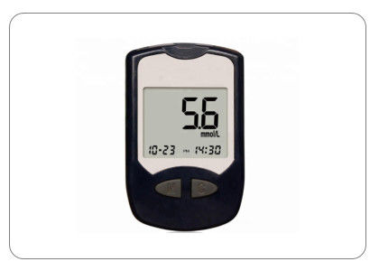 Multi Function Electronic Medical Equipment Blood Glucose Meter / Blood Glucose Monitor