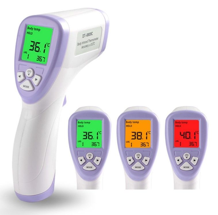 Digital Electronic Medical Equipment Forehead Non Contact Baby Infrared Thermometer