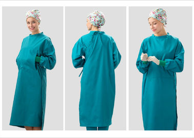 Chirurgische XS-5XL Baumwolle drapiert und Kleider/Doktor Cloth Reusable Surgeon Gown